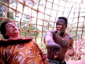 "Loren Avedon and Billy Blanks in ""King of the Kickboxers"""