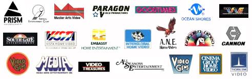 Video VHS logos