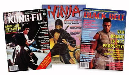 Ninja Black Belt Kung Fu Magazine Video Ads