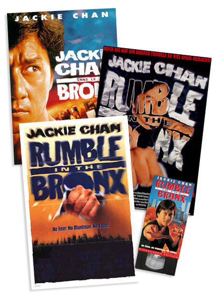 Rumble in the Bronx new line poster vhs