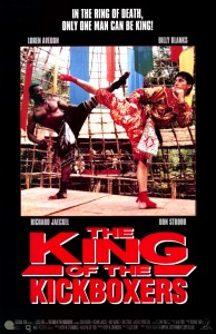 """King of the Kickboxers"" American Theatrical Poster"