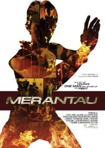 """Merantau"" International Theatrical Poster"