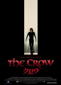 """The Crow"" Japanese Theatrical Poster"