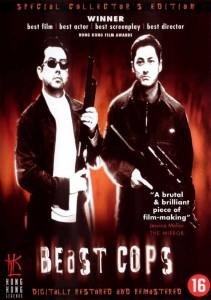 """Beast Cops"" Danish DVD Cover"