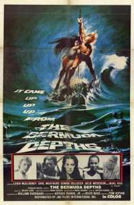 """The Bermuda Depths"" US Theatrical Poster"