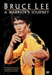 """""""Bruce Lee: A Warrior's Journey"""" American DVD Cover"""