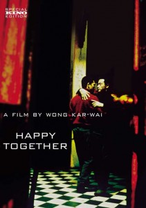 """Happy Together"" American DVD Cover"