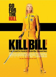 """Kill Bill Vol. I"" American Theatrical Poster"