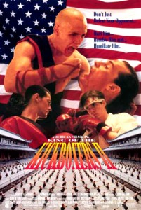 """American Shaolin"" American Theatrical Poster"