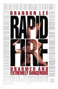 """""""Rapid Fire"""" American Theatrical Poster"""