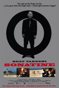 """""""Sonatine"""" American Theatrical Poster"""