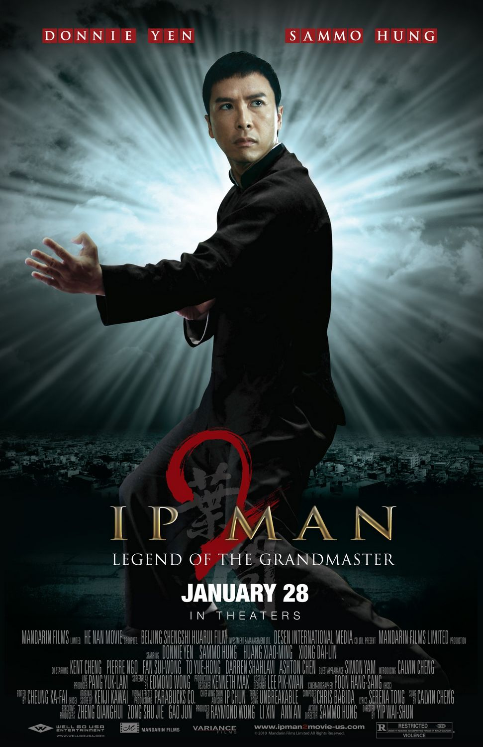 Ip Man 2 quot  US Theatrical PosterIp Man 2 Movie