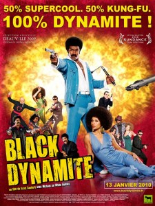 """Black Dynamite"" French Theatrical Poster"