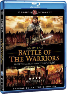 """Battle of the Warriors"" Blu-ray Cover"