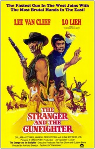 """""""The Stranger and the Gunfighter"""" International Theatrical Poster"""