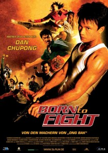"""Born to Fight"" German Theatrical Poster"