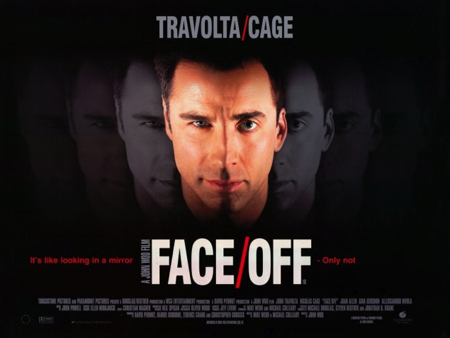 Nicolas Cage Face Off No Face HUGHESY'S A...