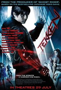 Tekken Blu-ray/DVD (Anchor Bay)