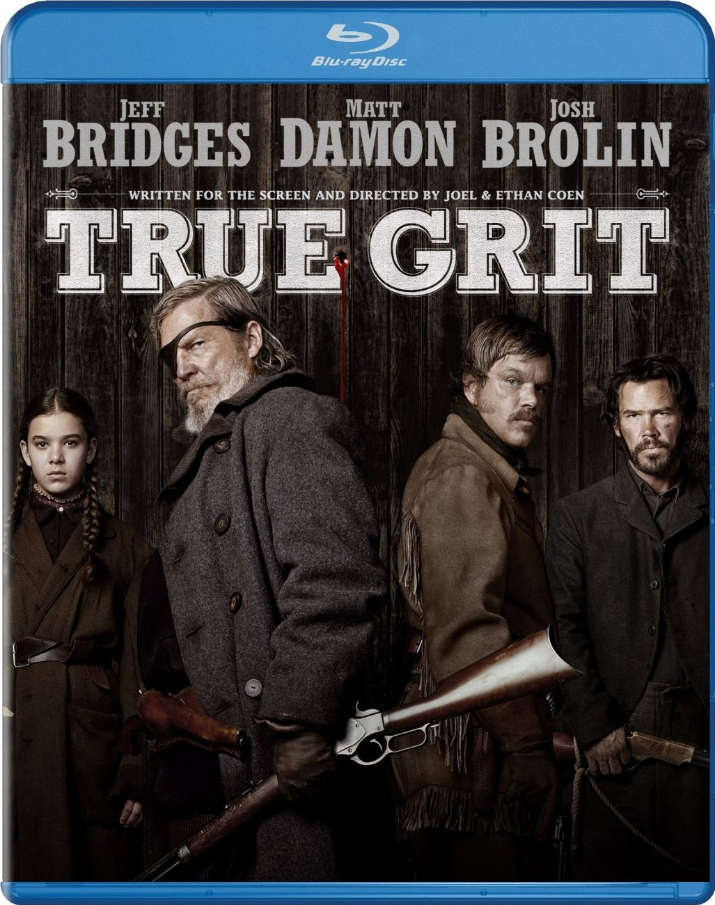 True Grit (2010) 720p BluRay x264 [Dual-Audio][English DD 5.1 + Hindi DD 2.0] – Mafiaking – M2Tv 1.1Gb