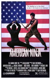 """American Ninja"" American Theatrical Poster"
