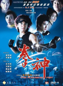 """The Avenging Fist"" Chinese DVD Cover"