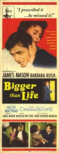 """Bigger Than Life"" American Theatrical Poster"