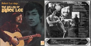 "Robert Lee's 1975 album ""The Ballad of Bruce Lee."" The track ""Parting"" features lyrics written by Bruce Lee."