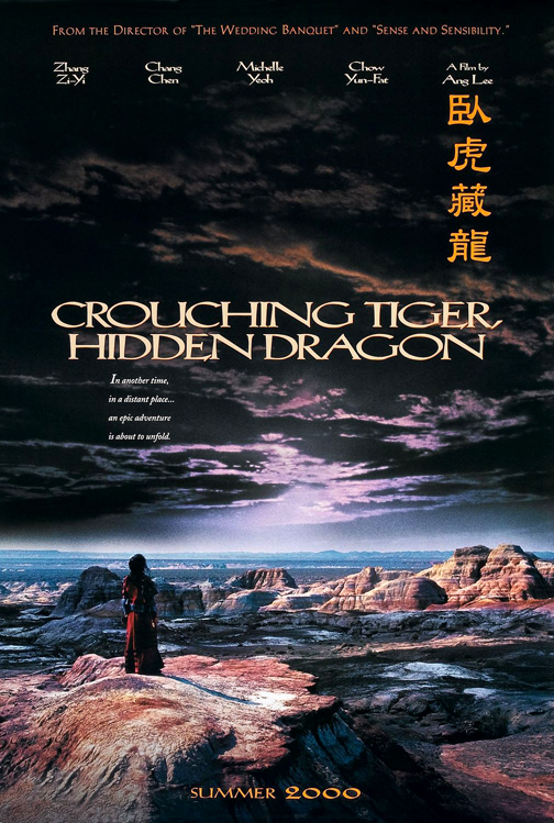 a review of the movie crouching tiger hidden dragon 'crouching tiger, hidden dragon' is a lyrical blend of myth, romance, generational strife, melodrama, and fabulous displays of martial arts prowess the movie was deliberately designed as a fusion of eastern and western storytelling traditions, both literary and cinematic.