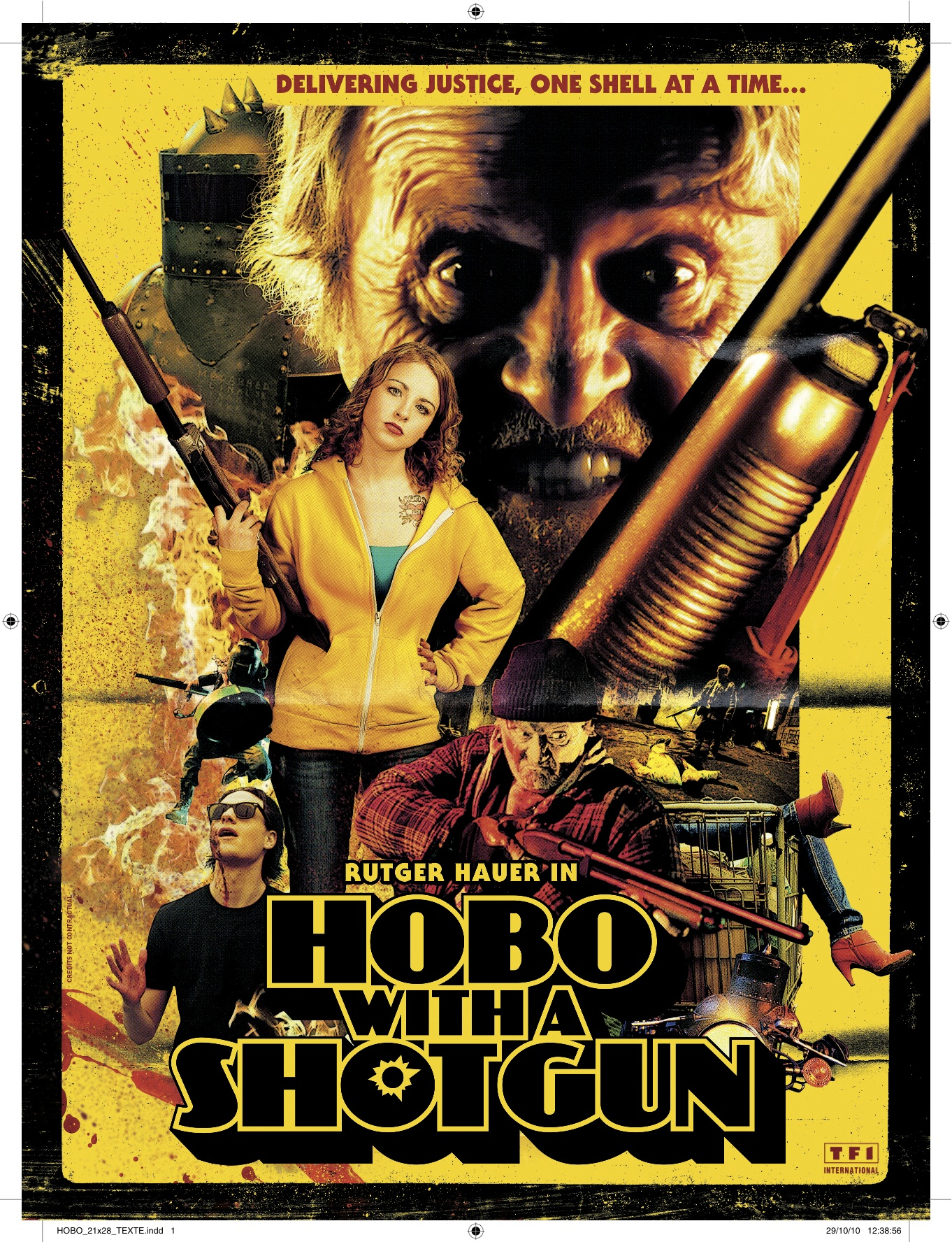 Hobo with a Shotgun (2011) Hobowithashotgunposter