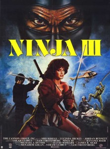 """Ninja III: The Domination"" American Theatrical Poster"