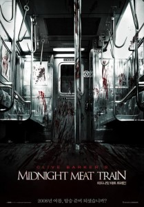 """The Midnight Meat Train"" Korean Theatrical Poster"