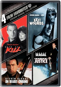 Steven Seagal Action DVD Set: Hard To Kill/Out For Justice/On Deadly Ground/Exit Wounds (Warner)