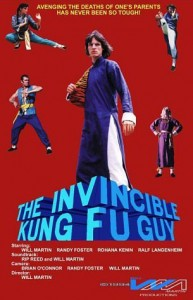 """The Invincible Kung Fu Guy"" International Theatrical Poster"