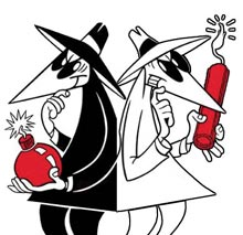 "Antonio Prohías' ""Spy vs. Spy"""