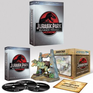 Jurassic Park Ultimate Blu-ray Trilogy (above)/Limited Edition (Below) Blu-ray Set
