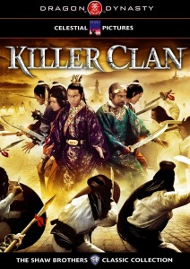Killer Clans aka Killer Clan DVD (Dragon Dynasty)