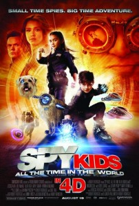 """Spy Kids 4: All the Time in the World"" Theatrical Poster"