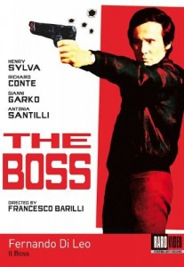 The Boss aka Wipeout!, Murder Inferno DVD (Raro)
