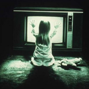 Wonder if today's high-definition televisions are compatible with ghosts?