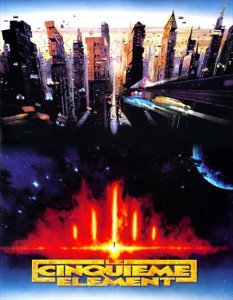 """The Fifth Element"" Russian Theatrical Poster"