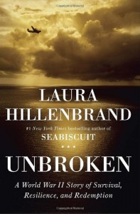 "Laura Hillenbrand's ""Unbroken: A World War II Story of Survival, Resilience, and Redemption"""