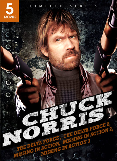 Chuck Norris DVD Set: Delta Force, Delta Force 2, Missing In Action,  Missing In Action Poster