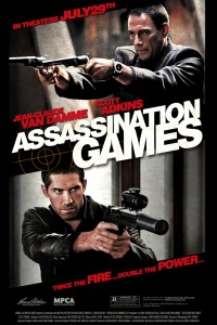 """Assassination Games"" American Theatrical Poster"