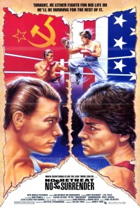 """No Retreat, No Surrender"" American Theatrical Poster"