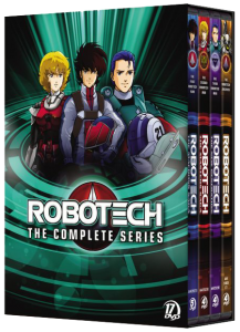 Robotech: The Complete Series DVD Deluxe Collector's Set (A&E)