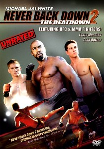 """Never Back Down 2: The Beatdown"" DVD Cover"