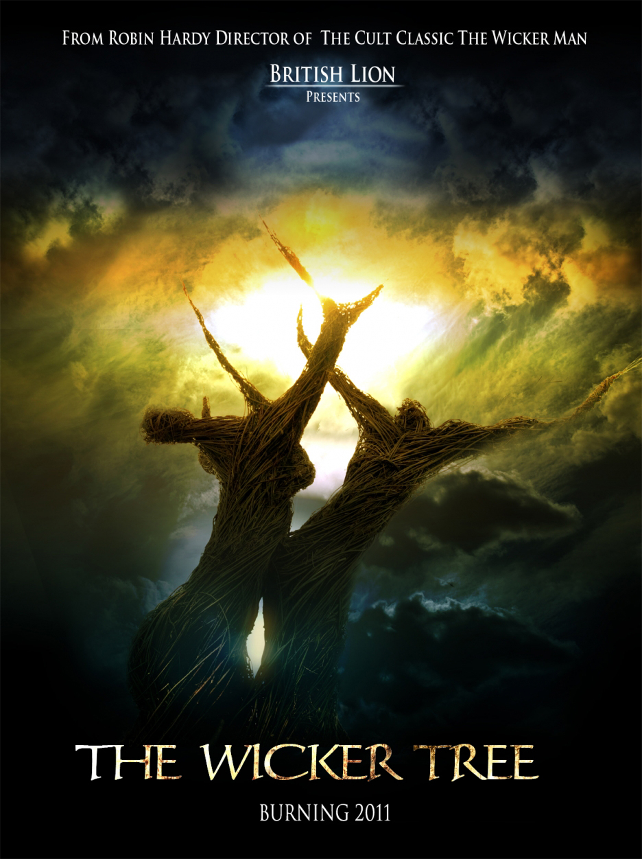 Movie Poster Tree Wicker Tree Teaser Poster