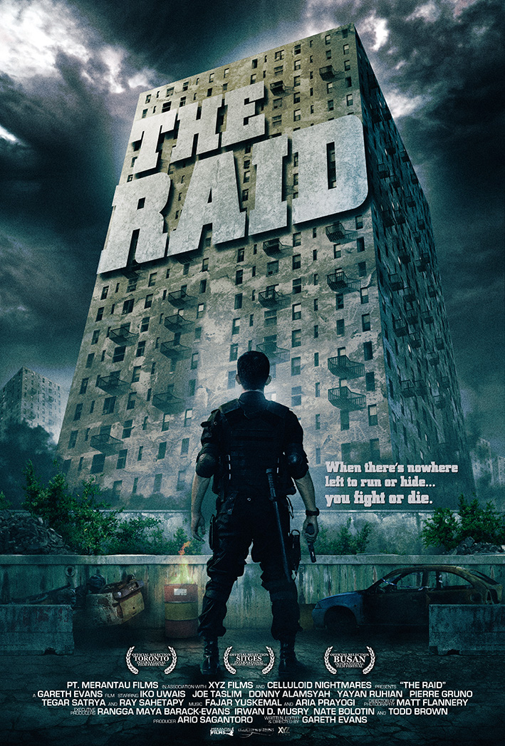 The Raid Poster Final Red Band Trailer:  The Raid (2012) (Indonesia)