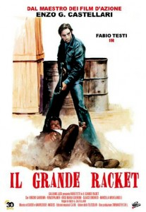 """The Big Racket"" Italian Theatrical Poster"