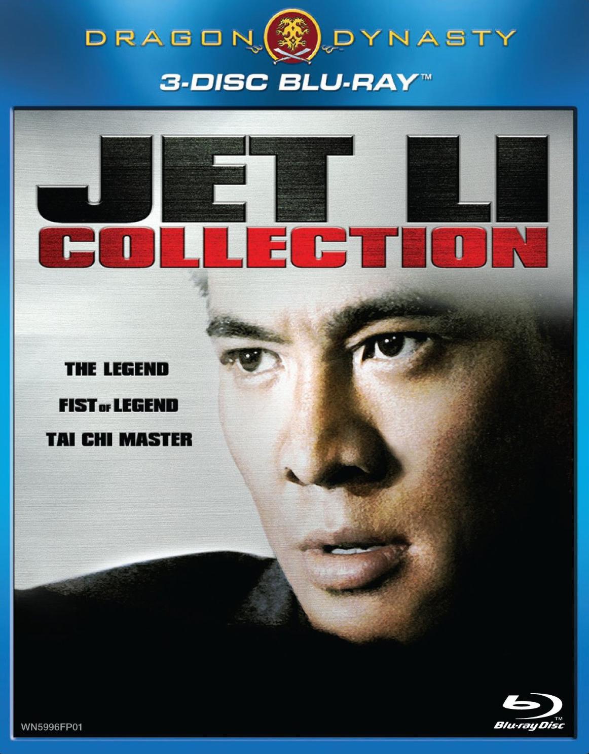 Dragon Dynasty Jet Li 3-Disc Blu-ray Set: Fist of Legend
